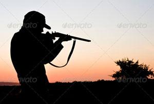 Hunter Silhouette Movie