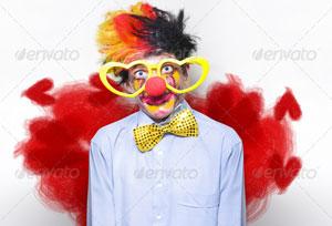 Clown Wearing Heart Movie
